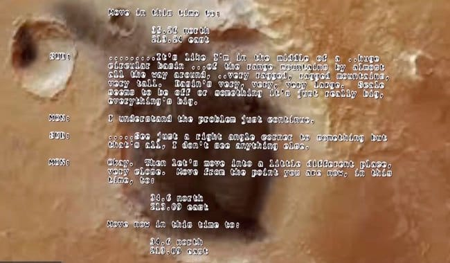 documents reveal Mars once inhabited