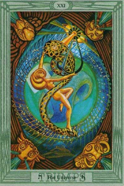 Aleister Crowley's Elusive Esoteric Thoth Tarot 1