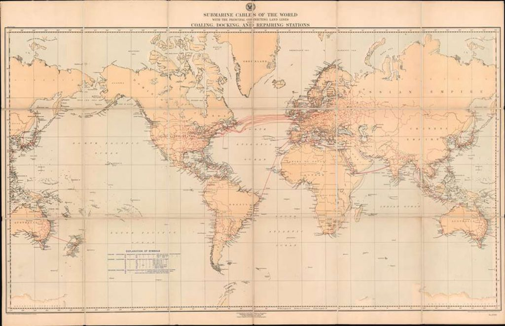 Submarine Cables of the World