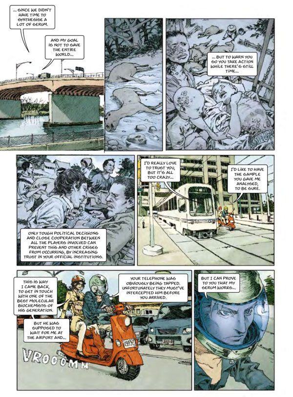 Coronavirus Comic from 2012 predicted pandemic from China!